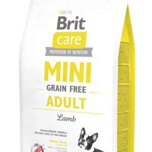 Brit Care Mini - til små racer - Grain Free Adult Lamb - hundefoder med lam, 2 kg