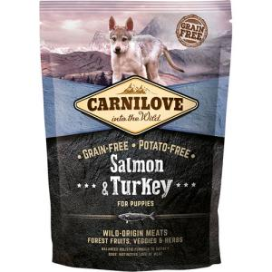 Carnilove Laks & kalkun - Salmon & Turkey for puppy, 12 kg