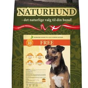Naturhund Free Fuldfoder, 10 kg