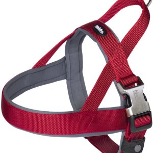 Nobby Royal Norsk Hundesele - Med Blød Neopren - Rød - Flere Størrelser