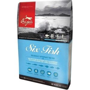 Orijen Six Fish hundefoder, 2 kg