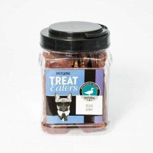 Treateaters Hunde Snack Godbidder Ande Jerky - 400g - Naturlige - Uden Tilsætningsstoffer - - - -