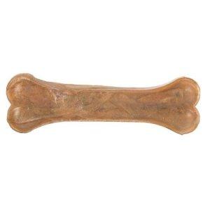 Trixie Hunde Snack Tyggeben - Presset Råhud - 17cm