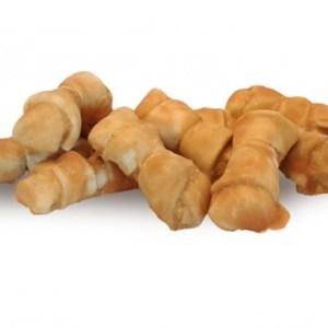 Tyggeben 5-8 cm til små hunde med lækker kylling med 92% kyllingebrystfilet - Low Fat