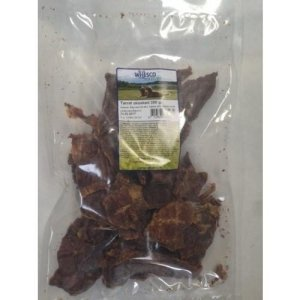 Whesco Hunde Snack Godbidder Naturligt Oksekød - 200g - Tørret - - - - -