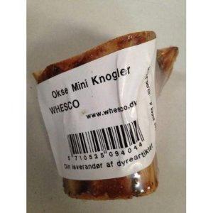 Whesco Hunde Snack Okseknogle - Med Kød - Lille - - - -