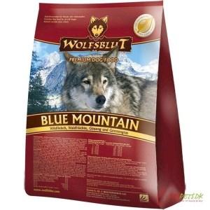 Wolfsblut Blue Mountain Adult med råvildt, 15 kg