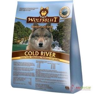 Wolfsblut Cold River Adult med fisk, 15 kg