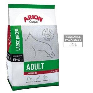 Arion Original Adult Large Breed Hundefoder - Lam og Ris - 12kg