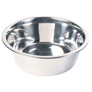 Hundeskål i rustfri stål, 4,7 liter