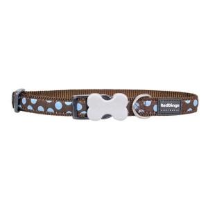 Red Dingo Halsbånd, Blue Spot, 24-36 cm