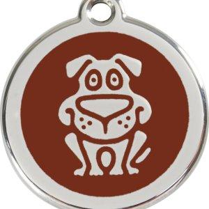 Red Dingo Hundetegn Hund - Brun - Large
