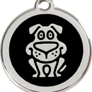 Red Dingo Hundetegn Hund - Sort - Medium