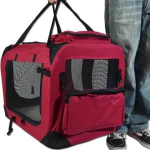 2 i 1 tasker til hunde - Taske og hundehus i et