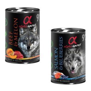 Alpha Spirit vådfoder til hunde glutenfrit - 400 gram