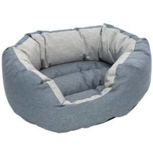 Coop hundekurv - Wonto - Small - Blå/grå