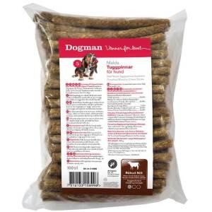 Dogman tyggepinde til hunde - 100 stk