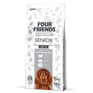 FourFriends Senior hundemad - Glutenfrit