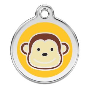 Hundetegn med abe medium