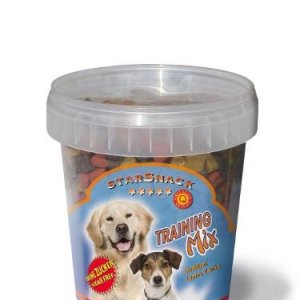 Starsnack Hunde Snack Godbidder Trænings Mix med Kylling, Lam og Lakseolie, - Sukkerfrie - Lavt Fedt indhold - 500g