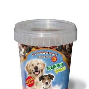Starsnack Hunde Snack Godbidder Træningsben med Kallun, Lam, Vildt, Kylling, Okse og Lakseolie - Sukkerfrie - Lavt Fedt indhold - 500g