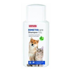 Beaphar Loppe & Flåt Shampoo (Dimethicone) - Til Hunde og Katte - 200ml