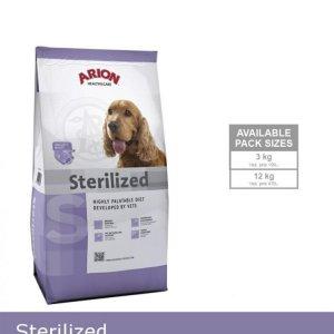 Arion Sterilized Hundefoder - Med Kylling - 12kg