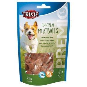 Trixie Premio Hunde Snack Kyllinge Kødboller - 75g - Sukkerfrie - Glutenfrie - Udgår