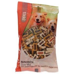 Tikki Hunde Snack Godbidder Miniben - Med Duomix - 200g