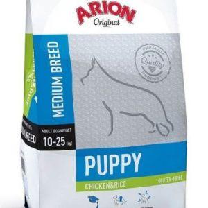 Arion Original Puppy Medium Kylling og ris 12kg 12 kg
