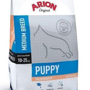 Arion Original Puppy Medium Laks og ris 12 kg
