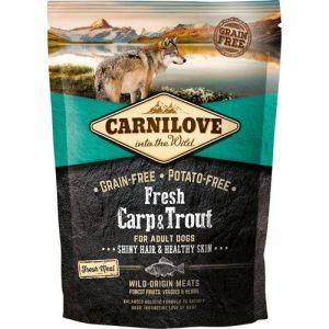Carnilove Grainfree Dog Fresh Karpe & Ørred 12kg
