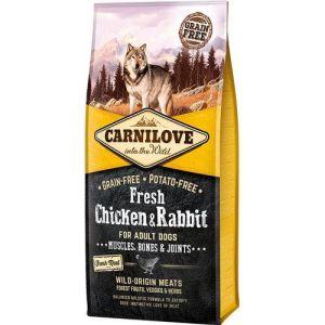 Carnilove Grainfree Dog Fresh Kylling & Kanin 12kg