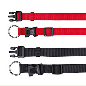 Classic halsbånd, flere størrelser/farver Rød L-XL