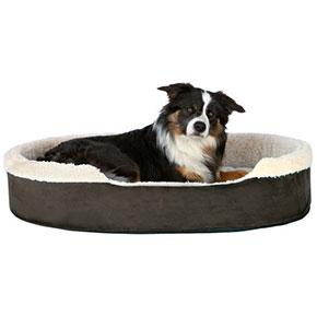 Cosma hundeseng Mørkebrun/beige, flere størrelser 60x50 cm