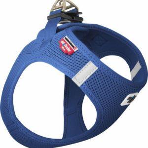 Curli Vest sele Air-mesh Blå, vælg størrelse S Brystmål 36-44cm