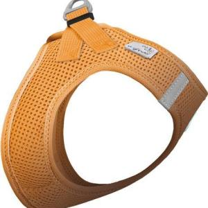 Curli Vest sele Air-mesh Orange, vælg størrelse S Brystmål 36-44cm