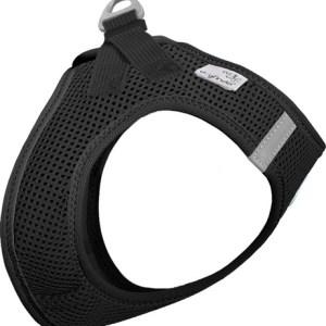 Curli Vest sele Air-mesh Sort, vælg størrelse XS Brystmål 32-36cm