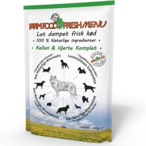 Farm Food Fresh Menu Kallun & hjerte vådfoder 300g