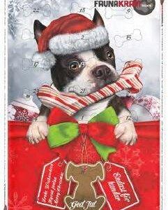 Faunakram Hunde Julekalender - Med Oksehud - Glutenfri