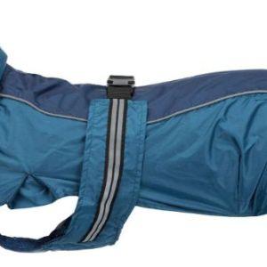 Fransk Bulldog /Mops regnfrakke Rouen Blå 38cm*