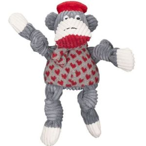 Huggle Hounds Knotties Jean Claude Sock Monkey large