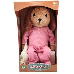 Hugzzeee Friends bamse - Hund - Rosa