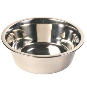 Hundeskål rustfri 1800ml