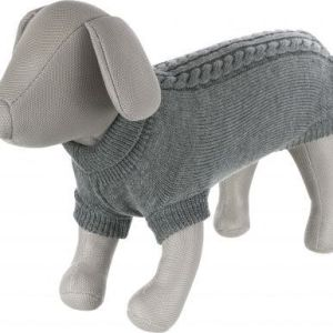 Hundestrik Kenton grå M 50cm