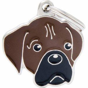 Hundetegn Friends Boxer brun
