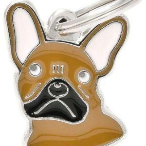 Hundetegn Friends Fransk Bulldog brun