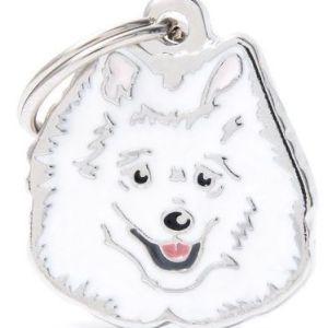 Hundetegn Friends Italian Spitz hvid