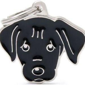 Hundetegn Friends Labrador sort