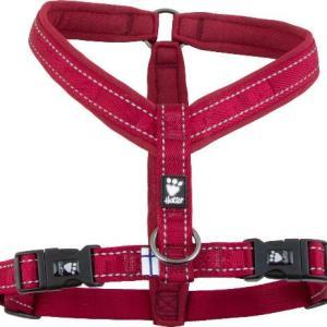 Hurtta Casual Y-sele Lingon (rød), vælg størrelse 45 cm